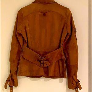 Danier. Cognac blazer/ jacket. Xsmall. Vintage